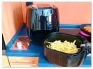 Werbung: TOPZONE Air Fryer, Heißluftfritteuse 1800W_2